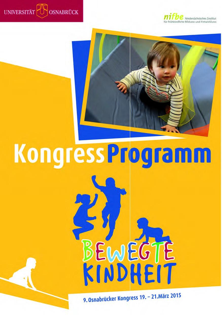 Programmheft Bewegte Kindheit